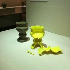 須恵器の断面、3Dプリント。べんきょうになる。