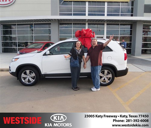 Happy Anniversary to Floyd Paul Kidder Sr on your 2013 #Kia #Sorento from James Fowler  and everyone at Westside Kia! #Anniversary by Westside KIA