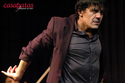 José Barrios en Casa Patas. Foto: Martín Guerrero
