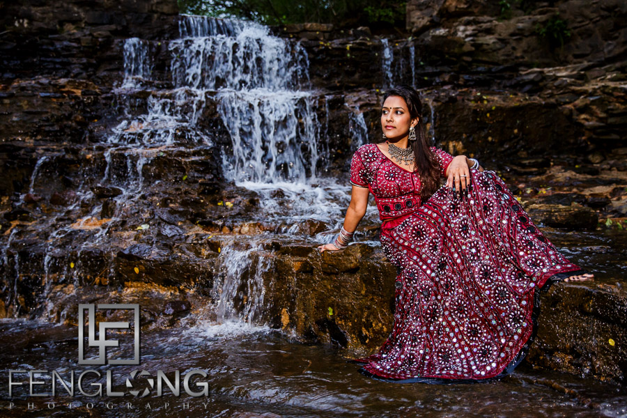 Atlanta Indian Wedding Photography - Trash the Saree