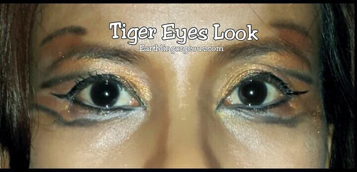 my tiger eyed look