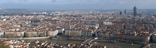 Lyon - panoramă
