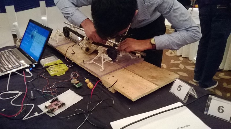 IIT Bhubaneshwar used 3D printed mounts