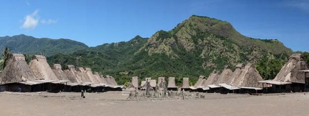 Gurusina village panorama