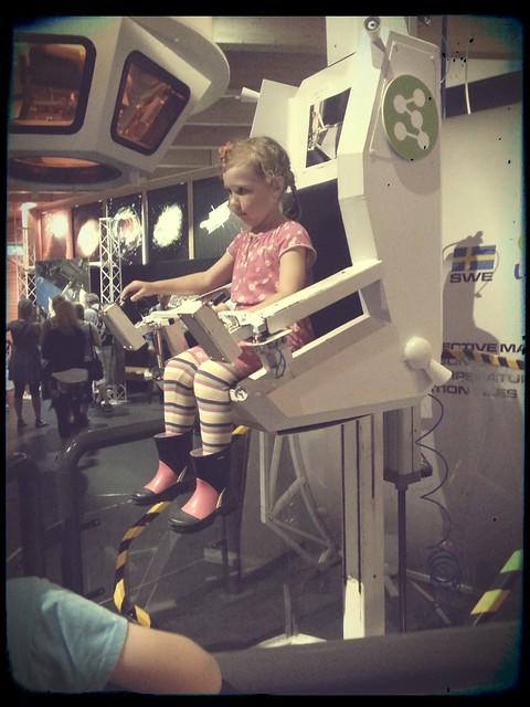 Kör rymdstolen