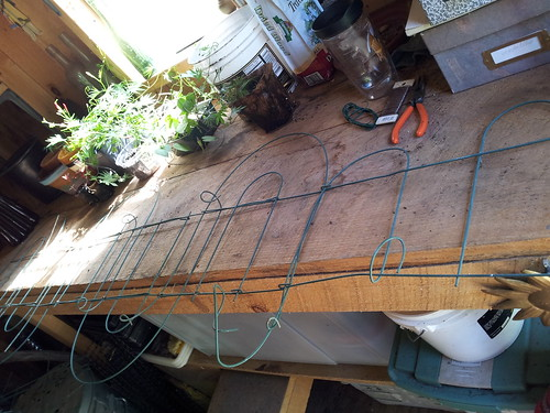 Creating a repurposed trellis