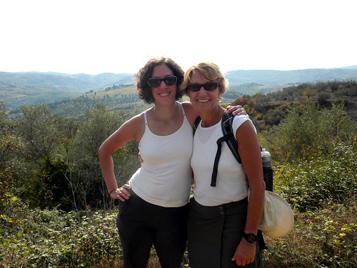Mom and me in Italy