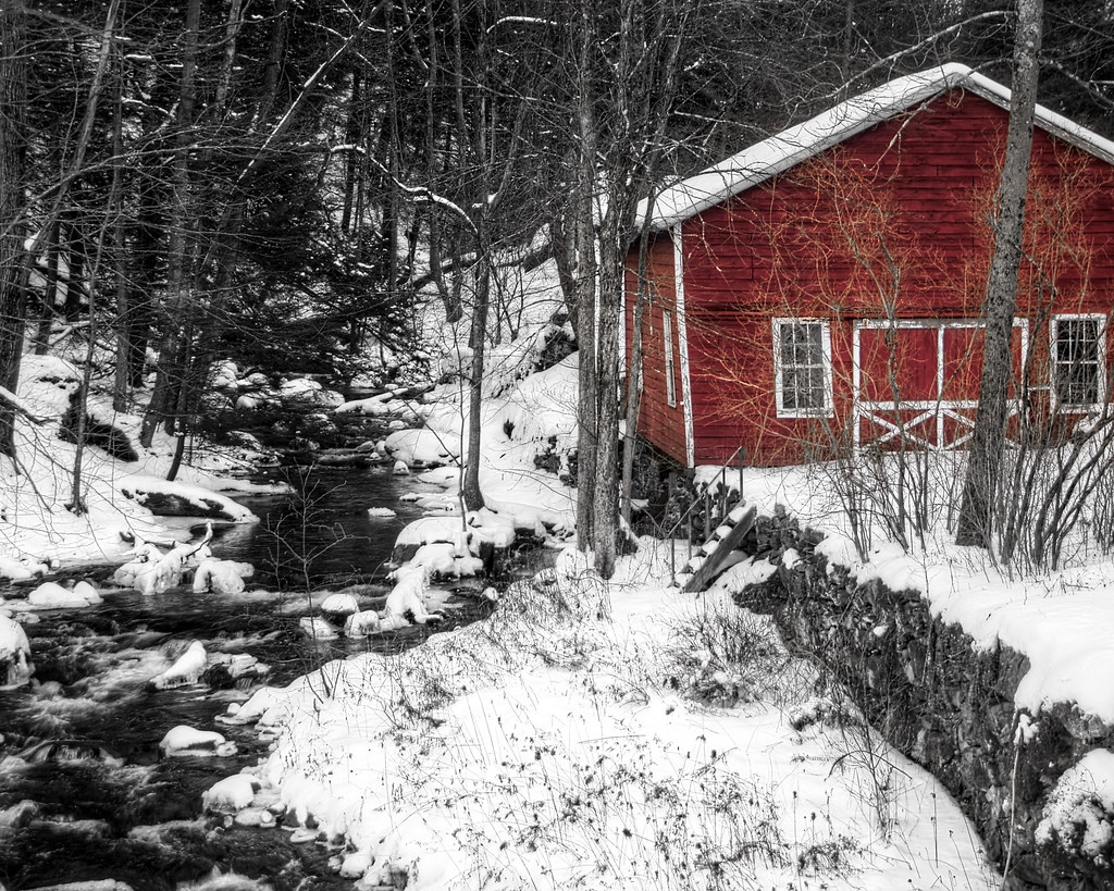 Outbuilding in Red