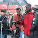 On Set with DoP Peter Woeste and Producer Larry Giesbrecht on broadcast documentary for historical re-enactment scenes