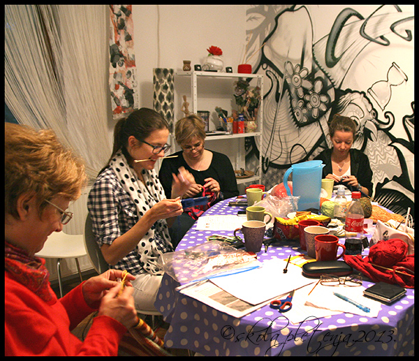 knitting workshop - short rows