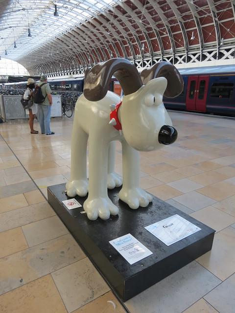 Gromi, by Aardman (London Paddington)