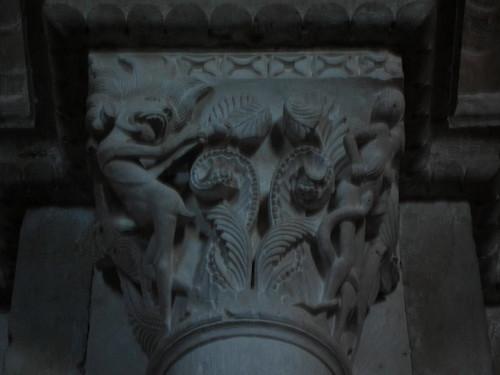 Demon capital, St. Madeleine Vezelay