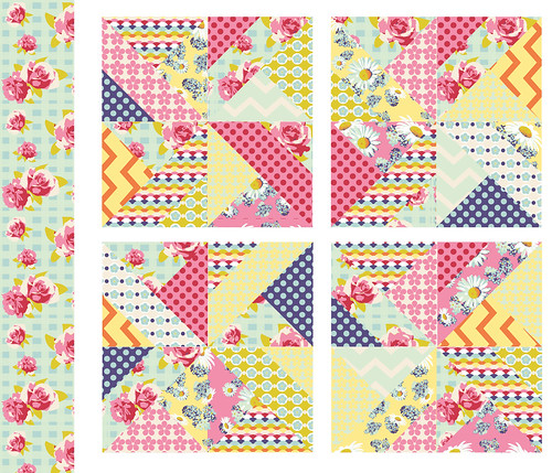 how to make a cheater quilt