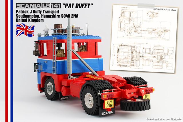"SCANIA LB 141 ""PAT DUFFY"" - SEV 928W"