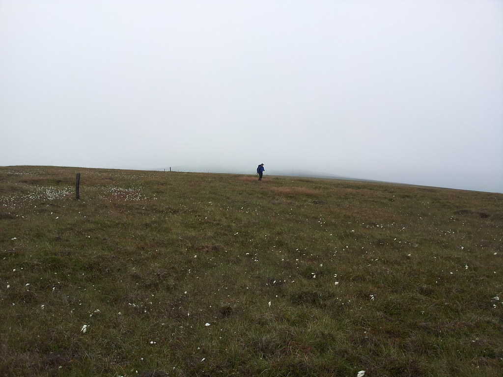@PilgrimChris tries to find the summit of Whetstone Ridge