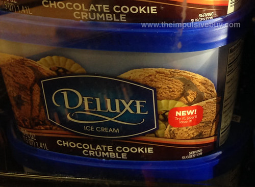 Kroger Deluxe Chocolate Cookie Crumble Ice Cream