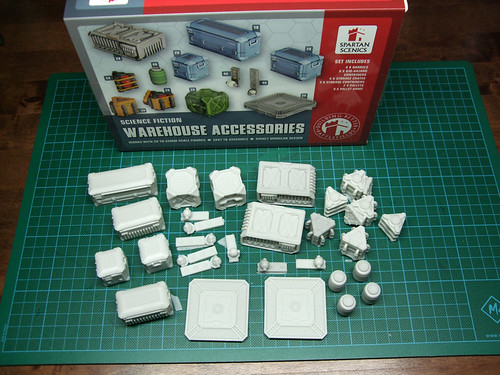 Spartan Scenics Warehouse Accessories
