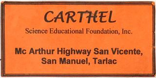 CNE1の住所カード