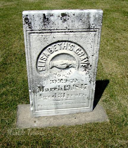 Elmwood Cem-Elisabeths Grave.JPG