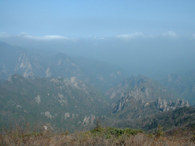 Picture from Seoraksan Mountain