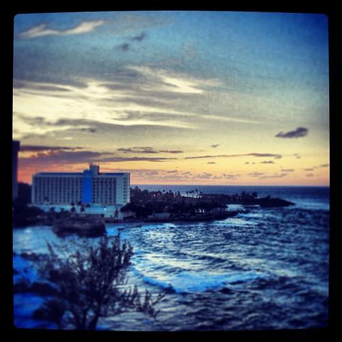 San Juan #sunset from the Conrad by @MySoDotCom
