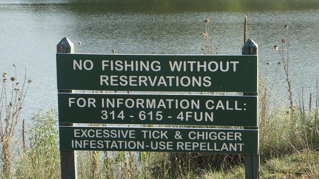 DSC06612 ticks sign 240813 Lone Elk Park