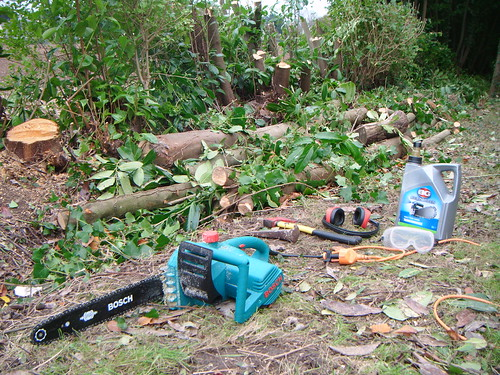 les outils du chantier bois