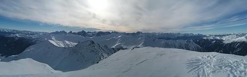 Gipfelausblick Rotlahner 2.735 m