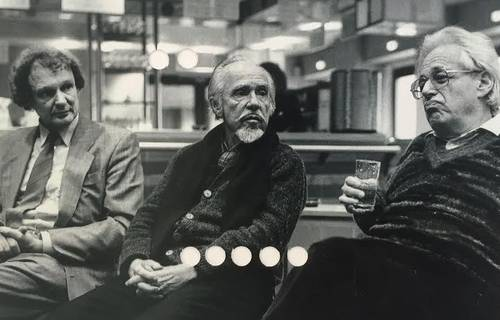 Conlon Nancarrow en una imagen de la serie Estudios para una película sobre el compositor estadunidense, impresiones perforadas