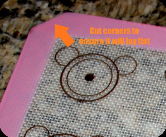 the simple baker cut corners mat
