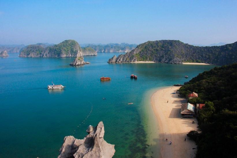 budget cruise i Halong Bay