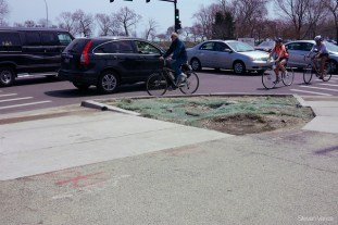 New sidewalks at Fullerton/Cannon in Lincoln Park