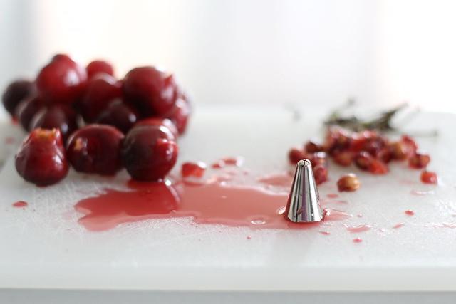 Cherry-Basil Soda | Lingonberry Jam