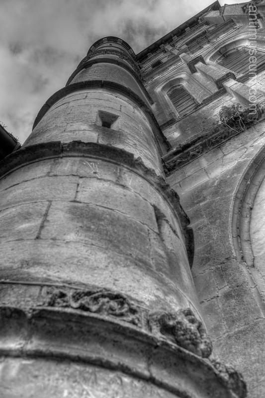 Damville Vilage Church - 16th century - HDR
