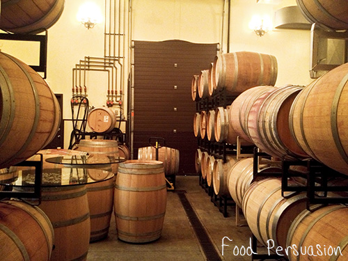 Le Vieux Pin Wine Storage