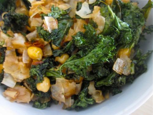 Coconut Kale salad