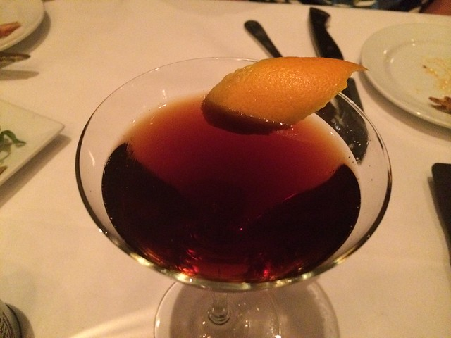 Bulleit Manhattan - Park Tavern