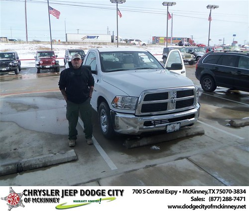 Happy Anniversary to John J Burns III on your 2012 #Dodge #2500 from Perry Callan and everyone at Dodge City of McKinney! #Anniversary by Dodge City McKinney Texas