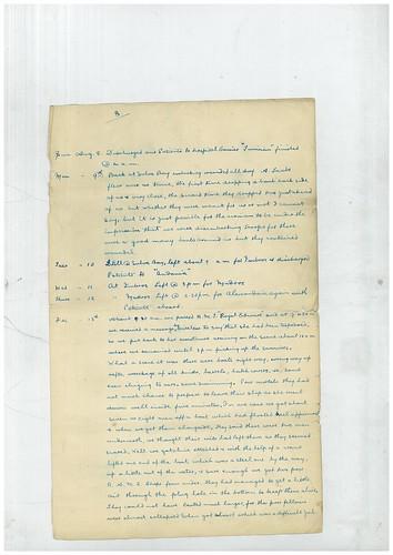 Arthur Sanders' Diary