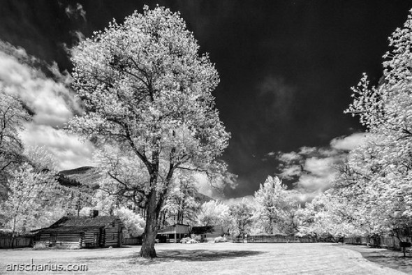 Where the Mormons lived once ago - Nikon 1 V1 - IR700nm - 6,7-13mm