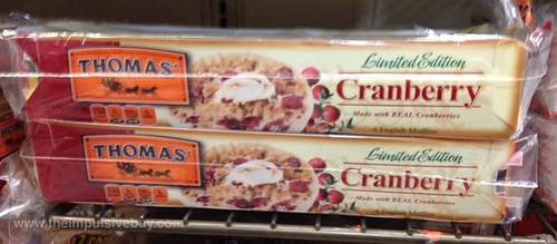Thomas' Limited Edition Cranberry English Muffins