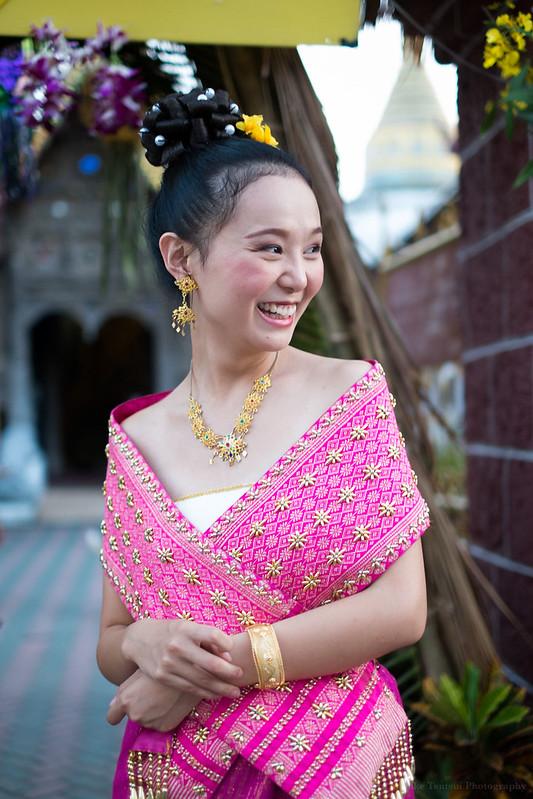 Wu Tian, at Wat Bupparam, Chiang Mai, Thailand