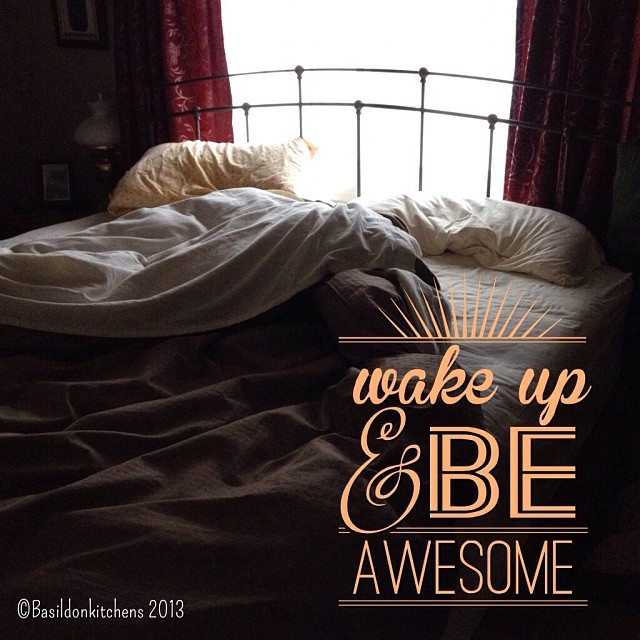 Dec 26 - where I slept {my cozy bed under the window} #fmsphotoaday #bed #sleep #rhonnadesigns