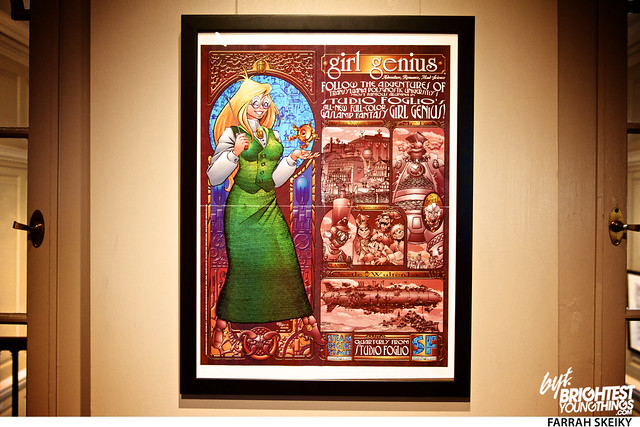 The Art of Comic Books Mansion at Strathmore Brightest Young Things Farrah Skeiky 53