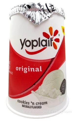 Yoplait Original Cookies 'n Cream Yogurt