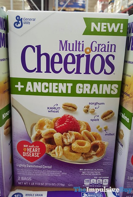 Multi Grain Cheerios + Ancient Grains