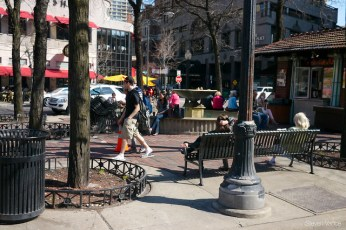 Mariano Park (plaza) on Rush and State Streets
