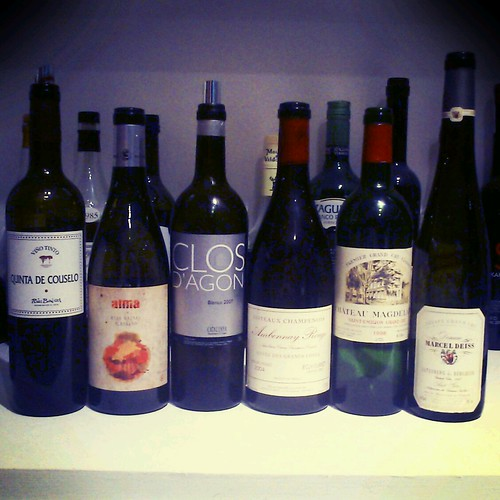 Wines of a Galician night by Marc Lecha