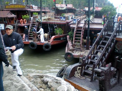 Boats - Ha Long Bay
