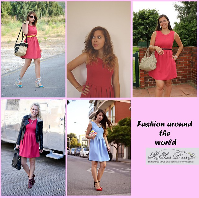 fashion aournd the world x My sweet dressing